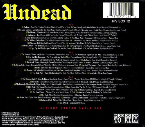 Undead: The Greatest Goth Collection of All Time