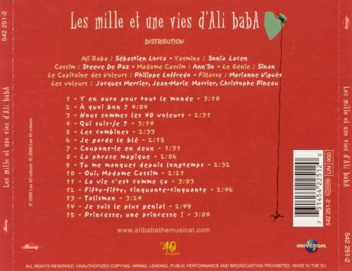 Comedie Musicale: Ali Baba