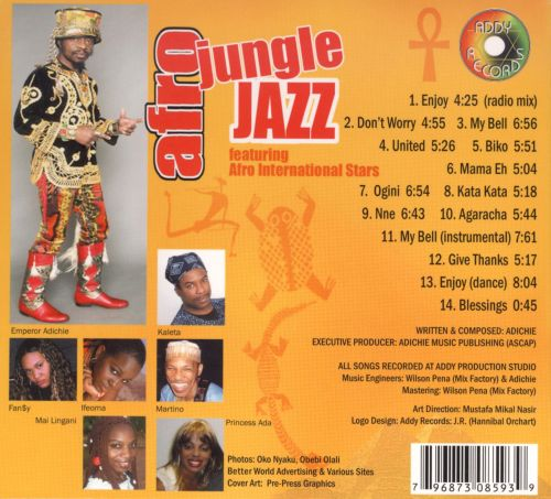 Afro Jungle Jazz, Vol. 1