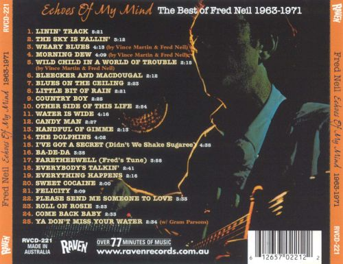 Echoes of My Mind: The Best of 1963-1971