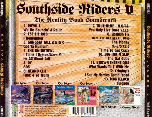 Southside Riders, Vol. 5: Reality Book Soundtrack
