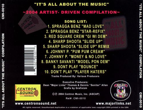 It's All About the Music 2004, Vol. 1