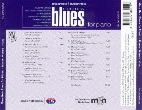 More New Blues for Piano
