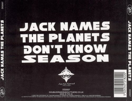 Jack Names the Planets