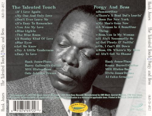 The Talented Touch/Porgy and Bess