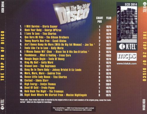 The Top 20 of Disco