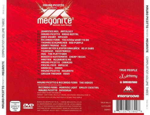 Mauro Picotto Presents: Meganite Compilation, Vol. 3