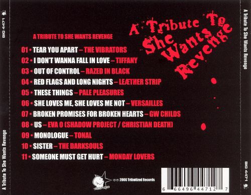 A Tribute to She Wants Revenge [Tibutized]