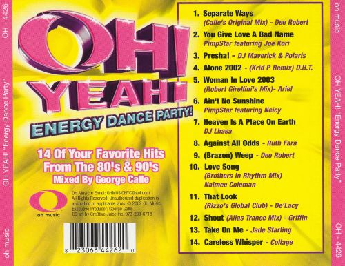 Oh Yeah! Energy Dance Party