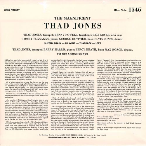 The Magnificent Thad Jones, Vol. 3