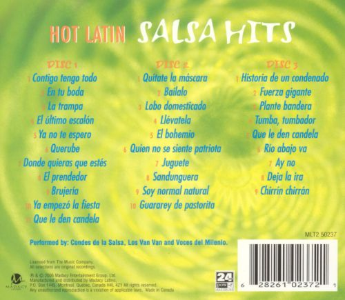 Hot Latin Salsa Hits: Hot and Spicy