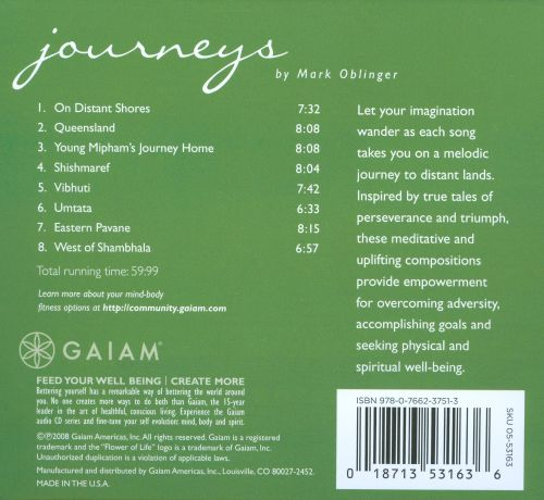 Journeys: Uplifting Melodis To Guide Your Personal Voyage