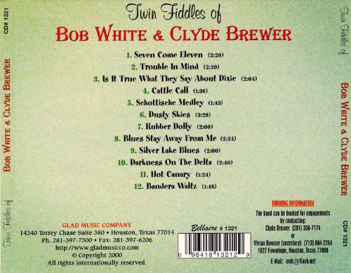 Twin Fiddles of Bob White & Clyde Brewer