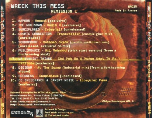 Wreck This Mess: Remission, Vol. 1