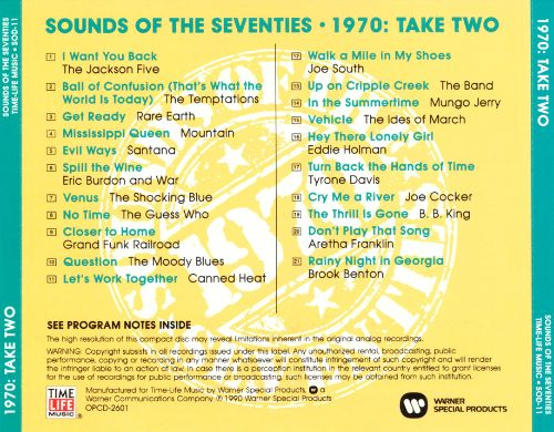 Sounds of the Seventies: 1970 - Take Two