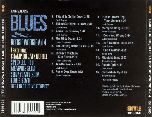 Barrelhouse Blues and Boogie Woogie, Vol. 5