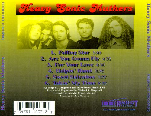 Heavy Sonic Muthers Ep