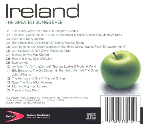 The Greatest Songs Ever: Ireland [2004]
