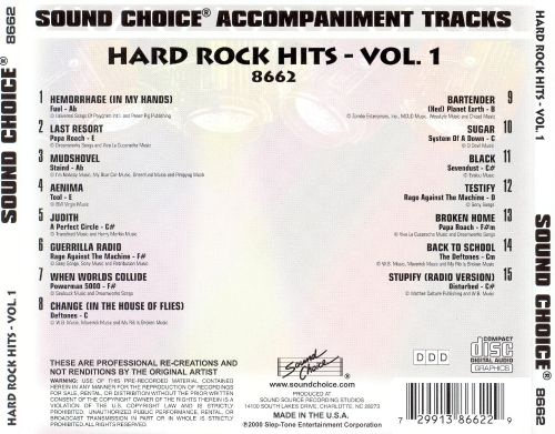 Hard Rock Hits, Vol. 1