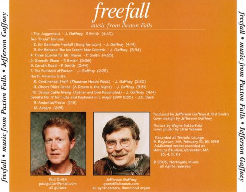 Freefall: Music from Paxton Falls