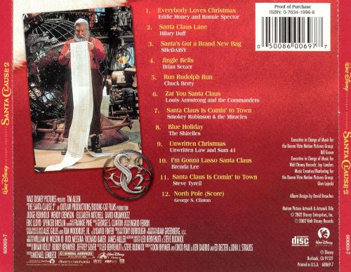 Where Is All Money Coming From >> The Santa Clause 2 - Original Soundtrack   Songs, Reviews, Credits   AllMusic