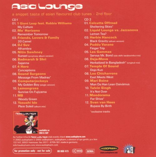 Asia Lounge: A Snippet of Asian Flavored Club Tune