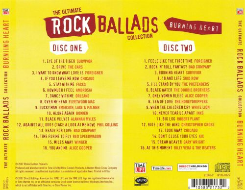 The Ultimate Rock Ballads Collection: Burning Heart