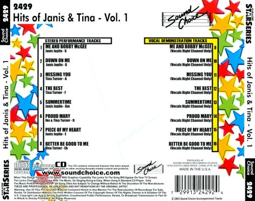 Hits of Janis and Tina, Vol. 1