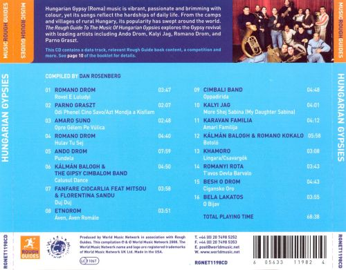 the rough guide to the music of hungarian gypsies various artists rh allmusic com Kindle Fire User Guide Quick Reference Guide