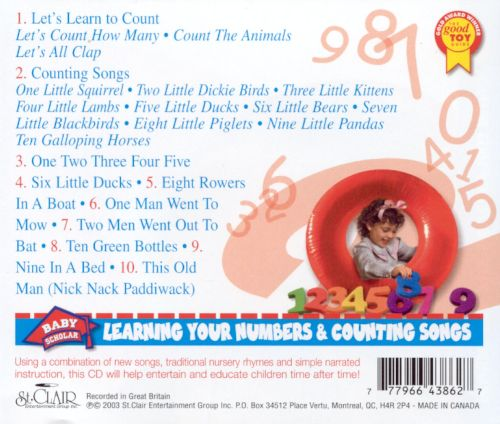 Learning Your Numbers and Counting Songs