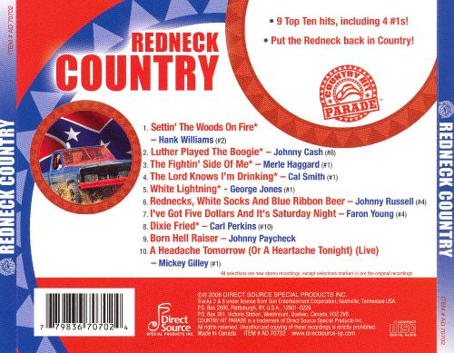 Country Hit Parade: Redneck Country