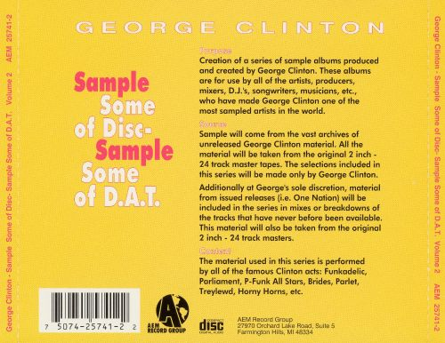 Sample Some of Disc, Sample Some of D.A.T., Vol. 2