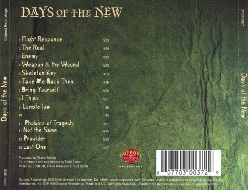 Days of the New, Vol. 2
