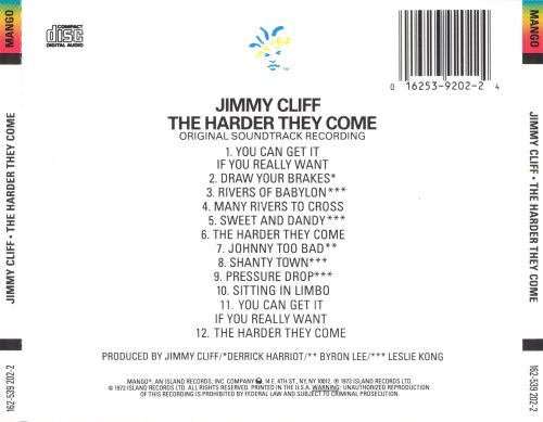 The Harder They Come [Original Motion Picture Soundtrack]