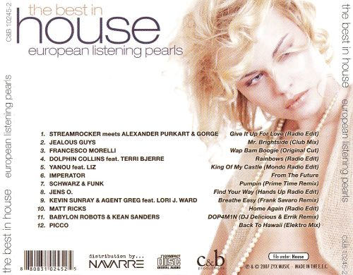 The Best in House: European House