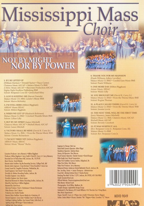 Not by Might Nor by Power [DVD]
