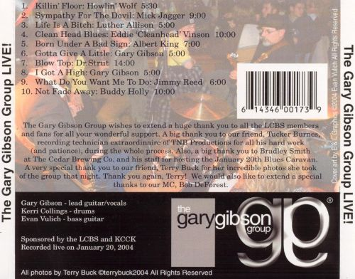 The Gary Gibson Group Live