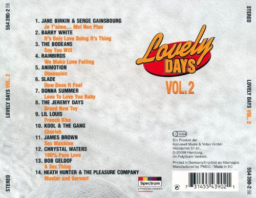 Lovely Days, Vol. 2