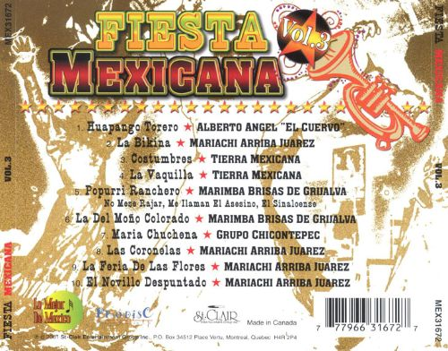 Fiesta Mexicana, Vol. 3