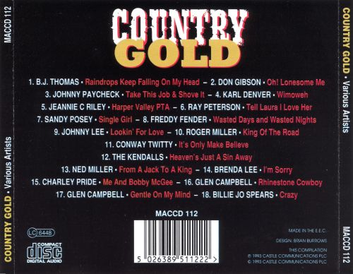 Country Gold [St. Clair]