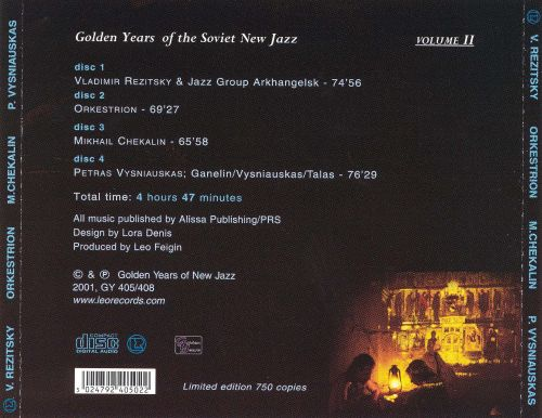 Golden Years of the Soviet New Jazz, Vol. 2