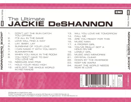 The Ultimate Jackie DeShannon