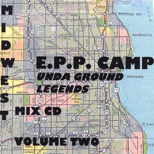 Unda Ground Legends Midwest Mix CD, Vol. 2