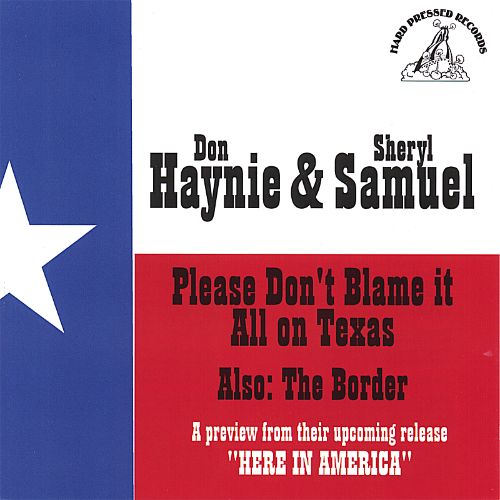 Please Don't Blame It All on Texas