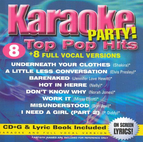 Karaoke Party! Top Pop Hits [Disc 1]