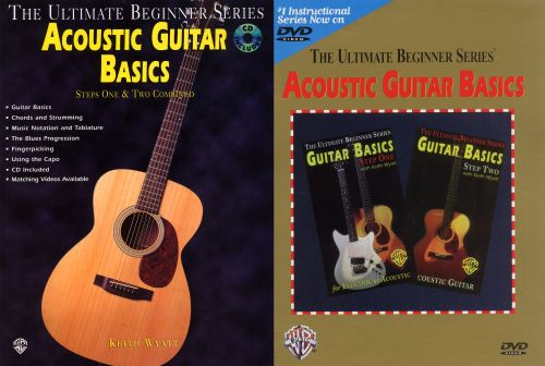 Acoustic Guitar Basics: Steps One & Two Combined
