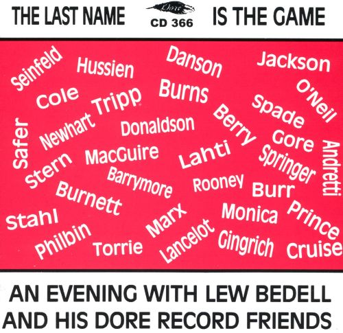Last Name Is the Game