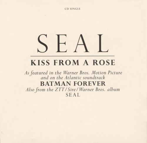 Kiss from a Rose [2 Tracks]