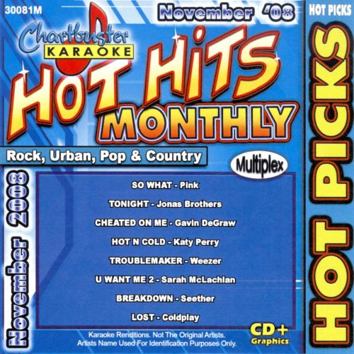 Hot Hits Hot Picks November 2008