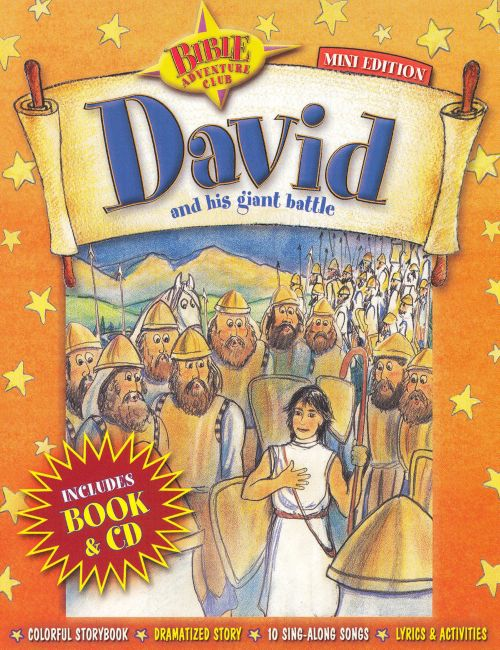 Bible Adventure Club: David and His Giant Battle